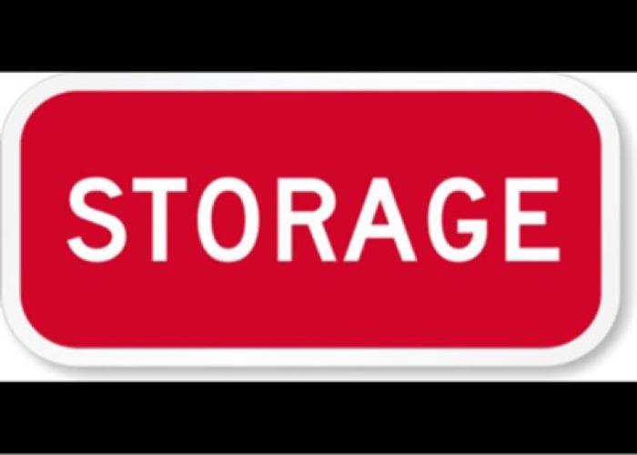 Storage space - 1