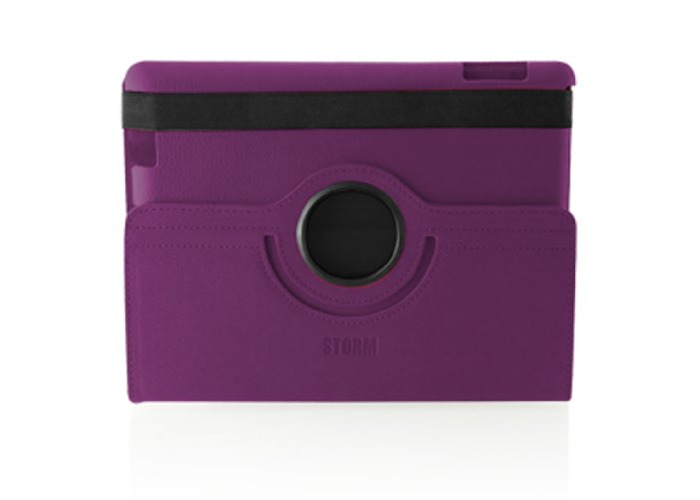 Storm of London iPad 2 360 Swivel Case Auto Shut off- Purple - OEM packaged - 1