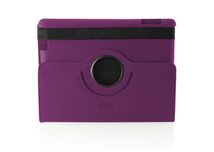 Storm of London iPad 2 360 Swivel Case Auto Shut off- Purple - OEM packaged - 2