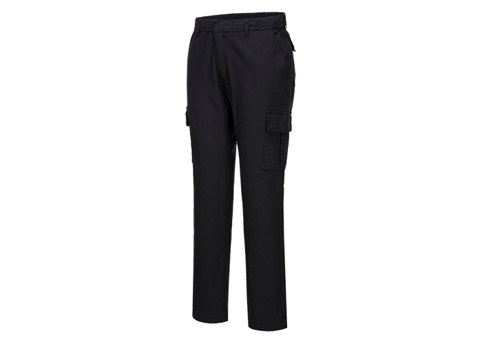 Stretch Combat Trousers  Black  30  R - 1