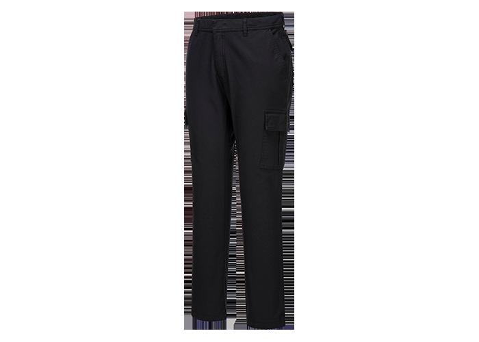 Stretch Combat Trousers  Black  36  R - 1