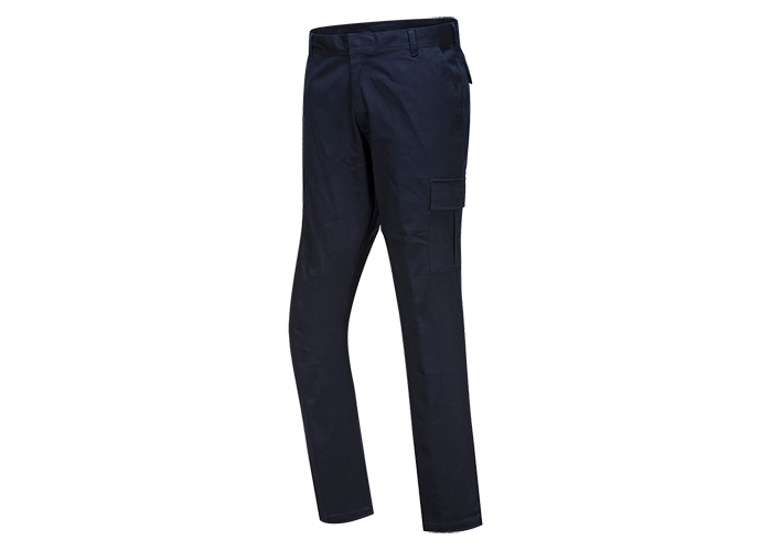 Stretch Combat Trousers  DrkNav  34  R - 1