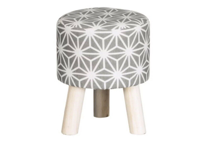 Pictures On Patterned Foot Stool Onthecornerstone Fun