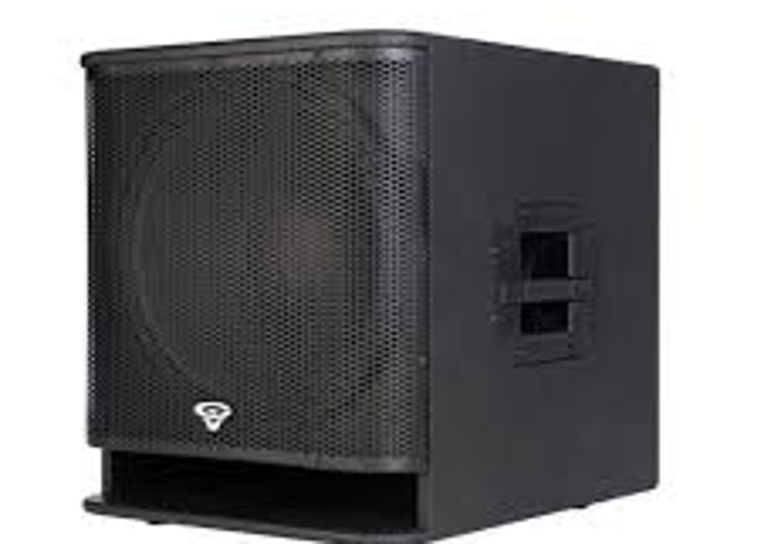 SUBWOOFER Cerwin Vega Active Powered P1800SX 2000W Subufer - 1