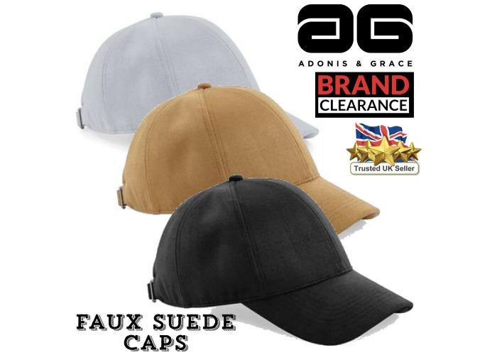 2a5a42a1 Buy Suede Baseball Cap Luxury Faux 6 Panel A & G Mens Sun ...