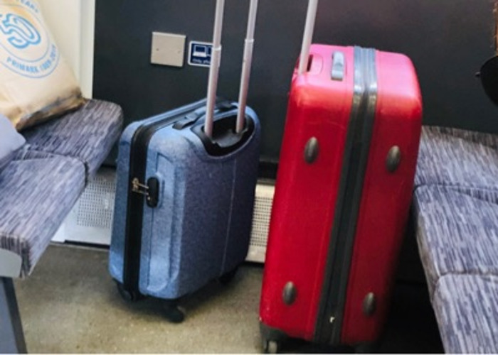 Suitcases in 2 different sizes - 1