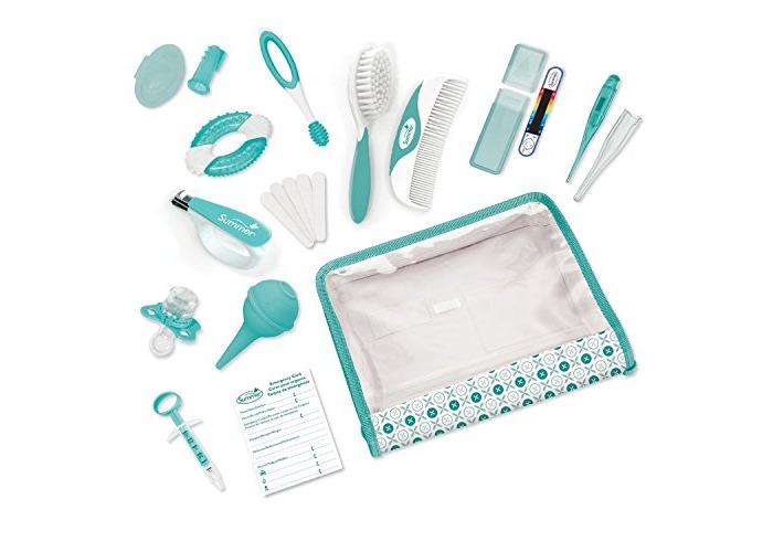 Summer Infant Nursery Care Kit - Neutral Teal/White - 21 Piece Set - 1