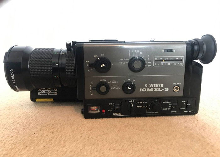 Super 8 Canon 1014 XL-S with 6.5-65mm Lens tested - 1