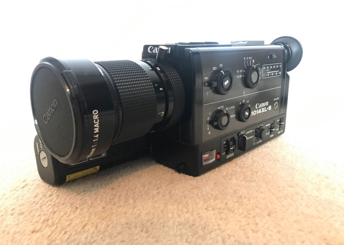 Super 8 Canon 1014 XL-S with 6.5-65mm Lens tested - 2