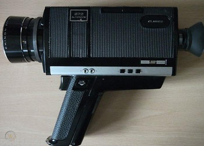 Super 8 Chinon 672 camera - 2