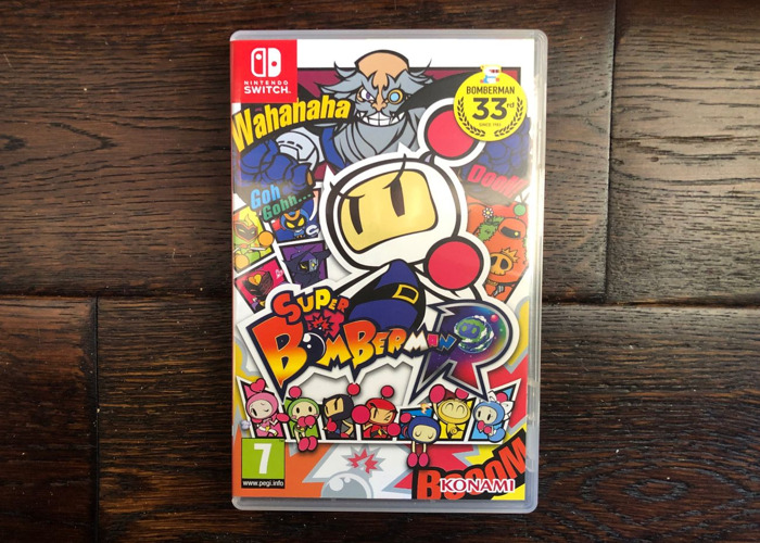 Super Bomber Man - Nintendo Switch Game - 1