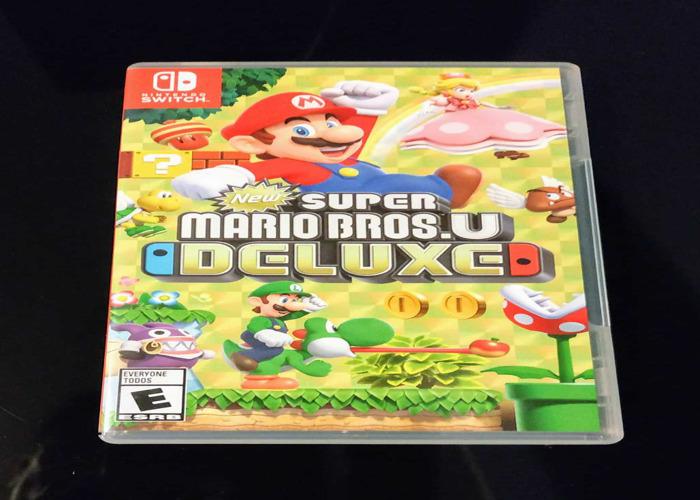 Super Mario Bros U Deluxe for Nintendo switch - 1