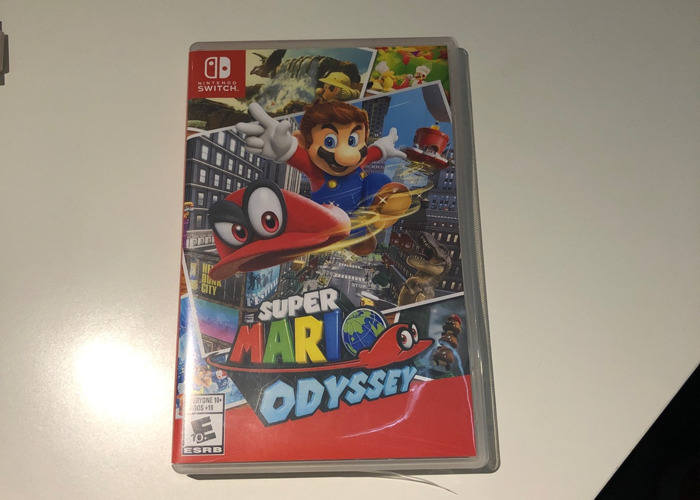 Super Mario Odyssey - Switch game - 1