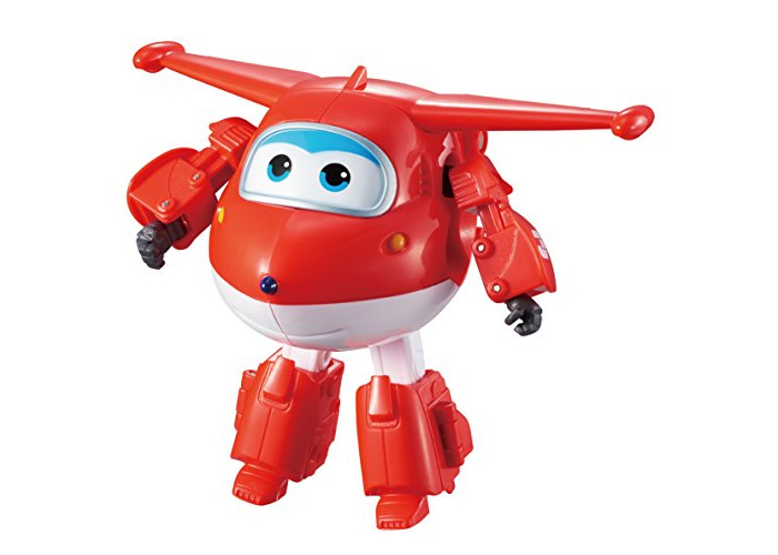 Super Wings - Transforming Vehicle | Series 1 | Jett | Plane | Bot | 5 Inch Figure - 1