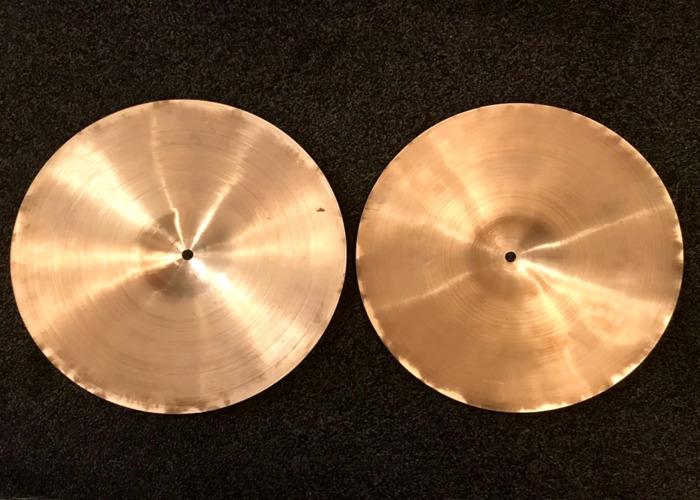 """Super Zyn 13"""" hi hat cymbals  - 2"""
