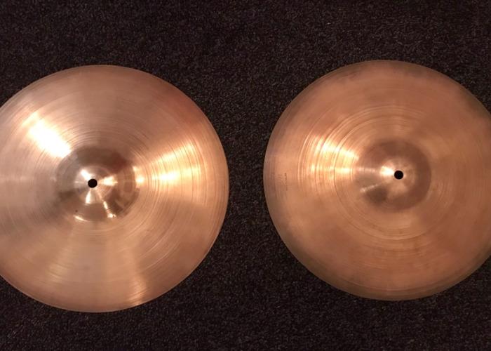 """Super Zyn 13"""" hi hat cymbals  - 1"""