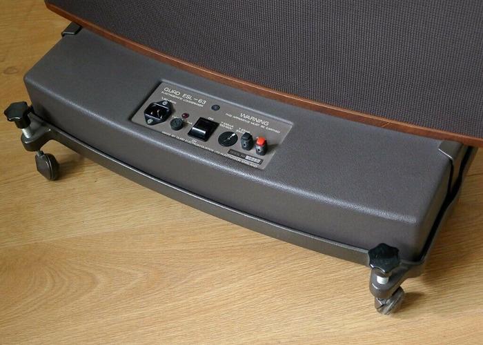 SUPERB QUAD ESL-63 ELECTROSTATIC SPEAKERS - 2