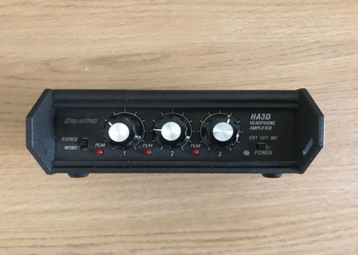 Superlux HA3D Headphone Amplifier - 1