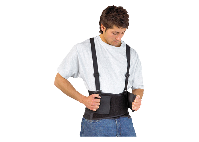 Support Belt  Black  XL  R - 1