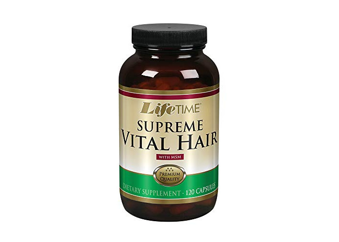 Supreme Vital Hair with MSM, 120 Capsules - 1