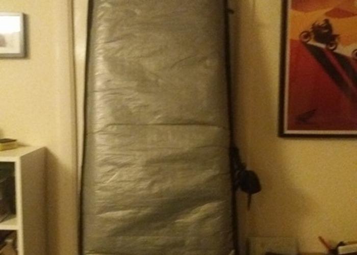 Surfboard: 7'2 HiFly Mini Malibu Board plus bag leash & fins - 2