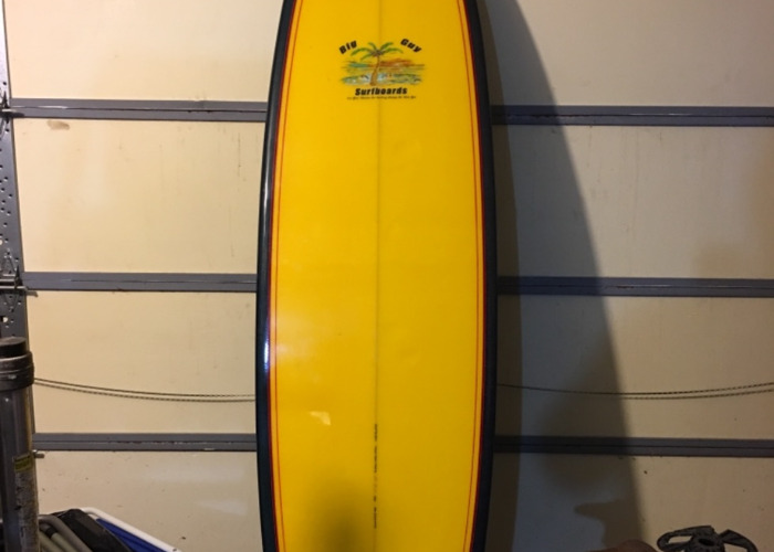 Surfboard, 8'  Carbon Fiber Deck - 1