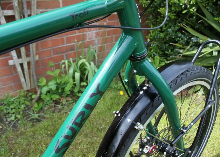 Surly Troll Large Frame Bicycle / Tour Bike Set-up - 2