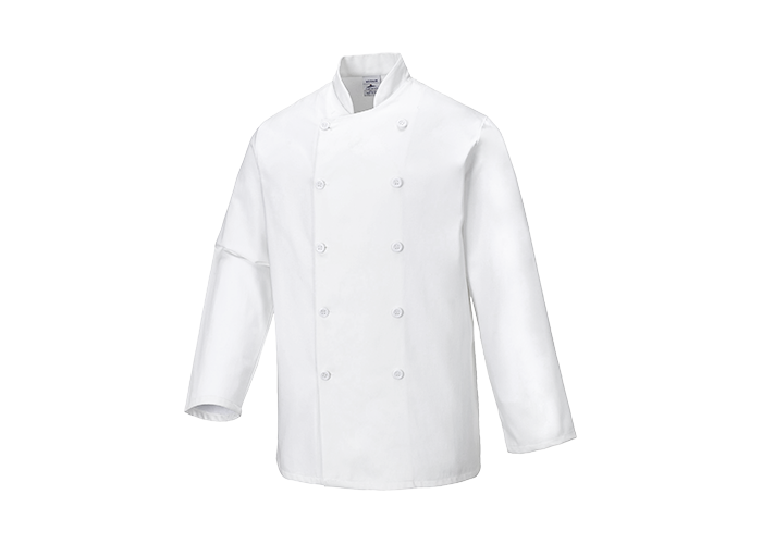 Sussex Chef Jacket  White  Small  R - 1