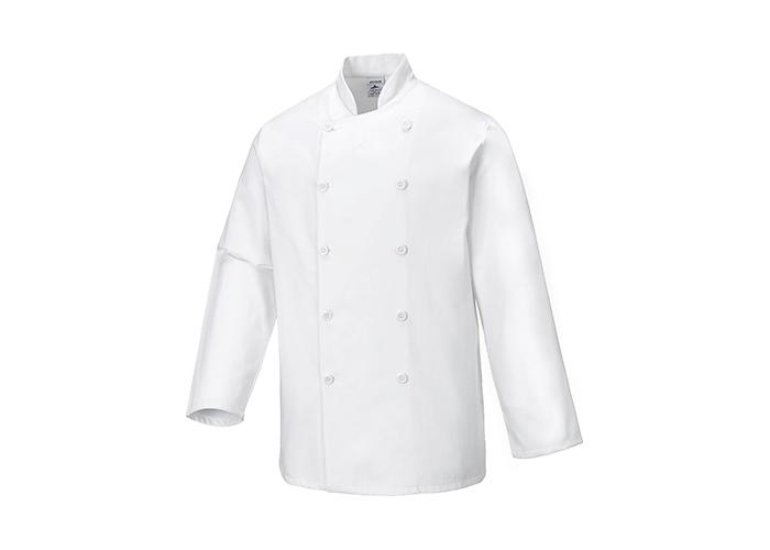 Sussex Chef Jacket  White  XL  R - 1