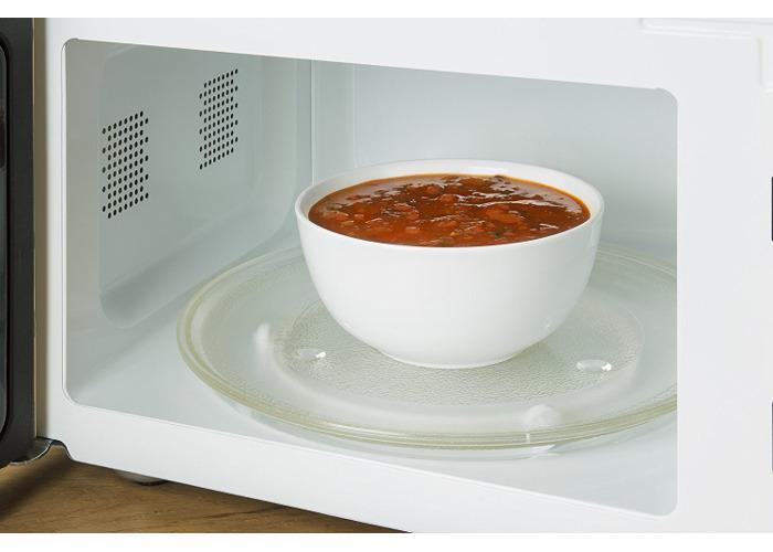 Swan Retro Manual Microwave - Grey - 2