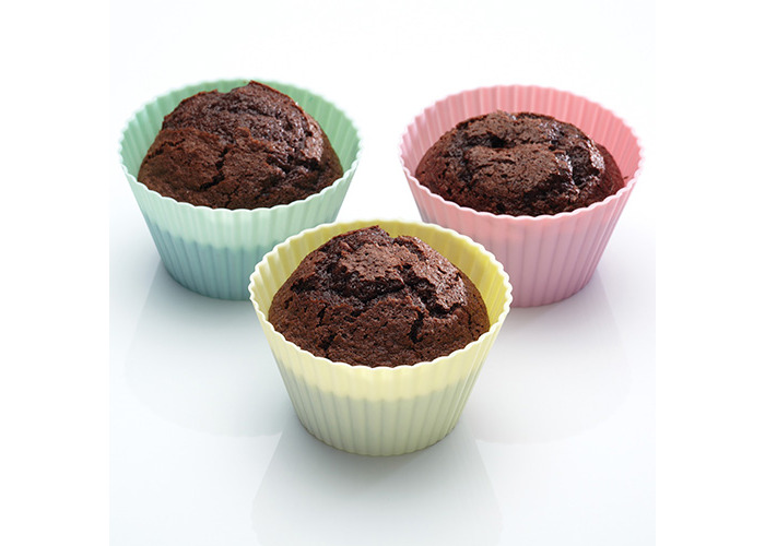 Sweetly Does It Pack of Six Flexible Silicone Muffin Cases - 2