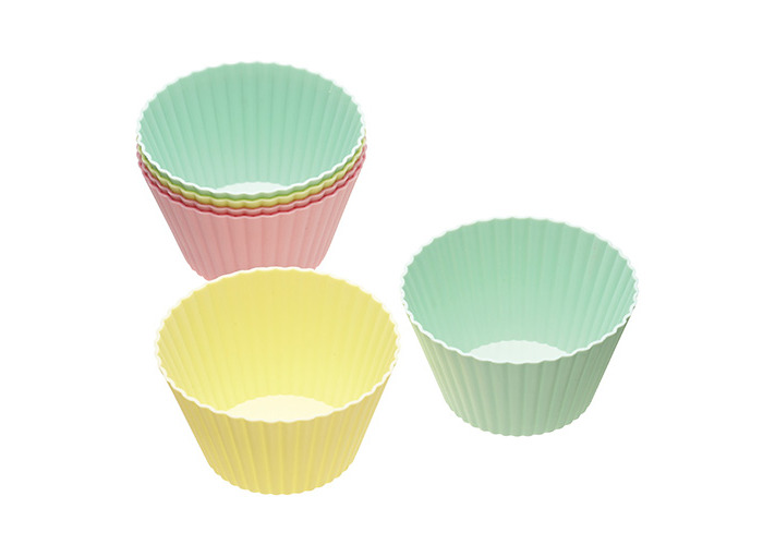 Sweetly Does It Pack of Six Flexible Silicone Muffin Cases - 1