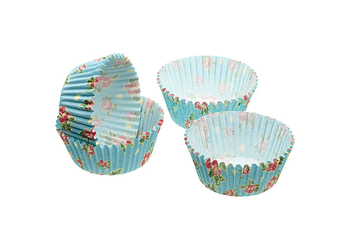 Sweetly Does It Pack of Sixty Vintage Rose Cupcake Cases - 1