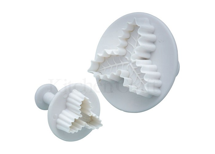 Sweetly Does It Set of Two Holly Fondant Plunger Cutters - 1