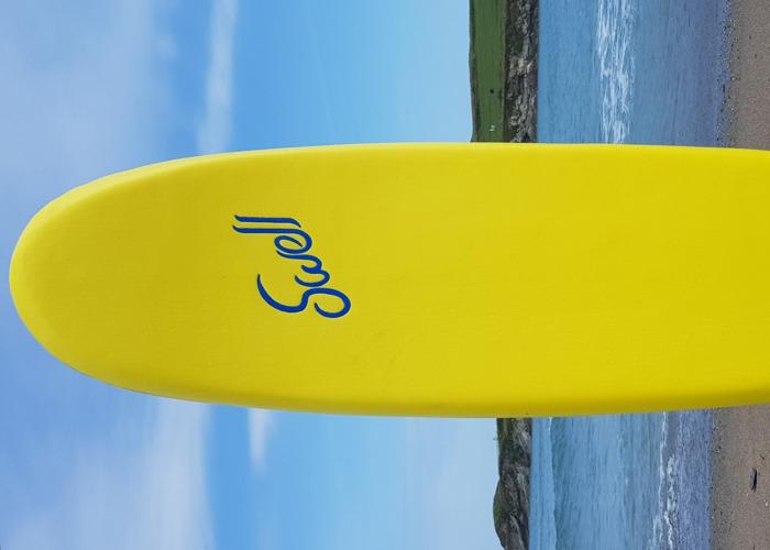 """Swell"" Beginner Soft Foam Surfboard  - 2"