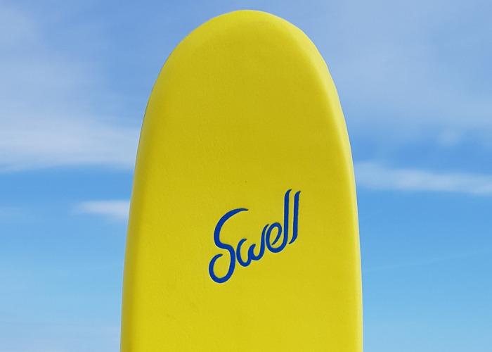 """Swell"" Beginner Soft Foam Surfboard  - 1"