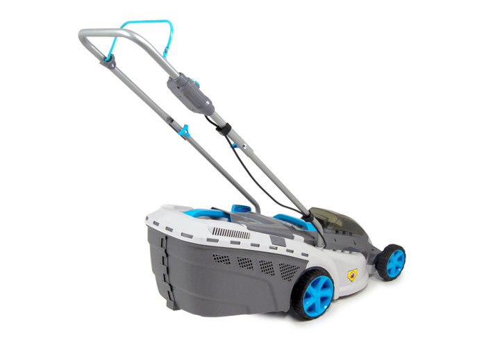 """Swift 40v Cordless Lawn Mower 15""""/37cm with Battery and Charger - 1"""