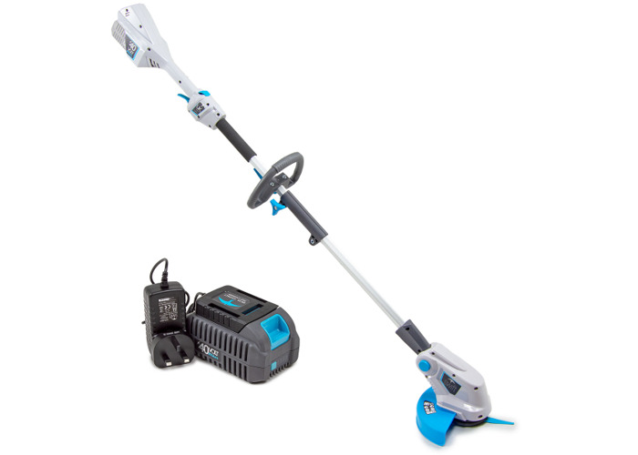 Swift 40 V Battery Powered Hedge Trimmer and Grass Trimmer Twin Pack with Battery and Charger