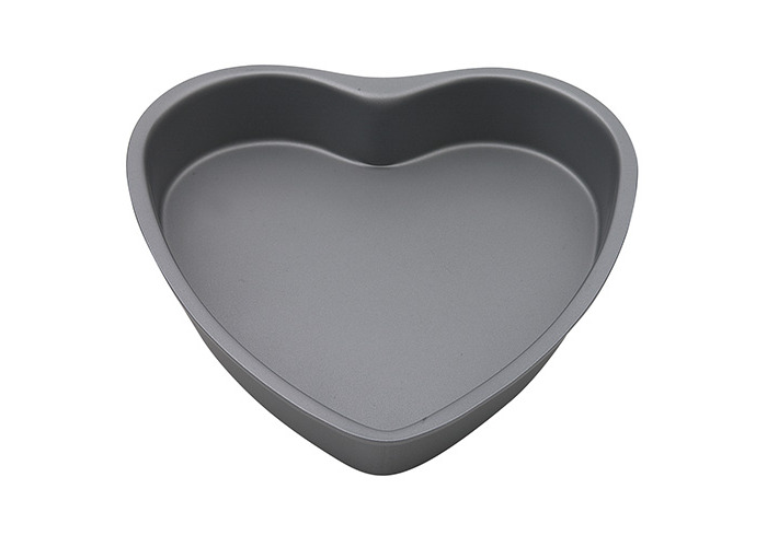Swift Faringdon Collection Bakers Pride Non-Stick Heart Shape Cake Pan Carbon Steel 19 cm x 19 cm x 3.5 cm - 1