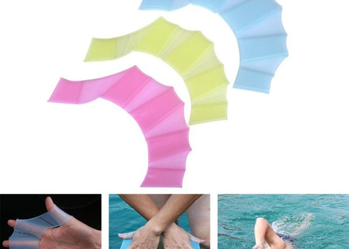 Swim webbing/ swim skin/ swim fins/ floating fingers - 2
