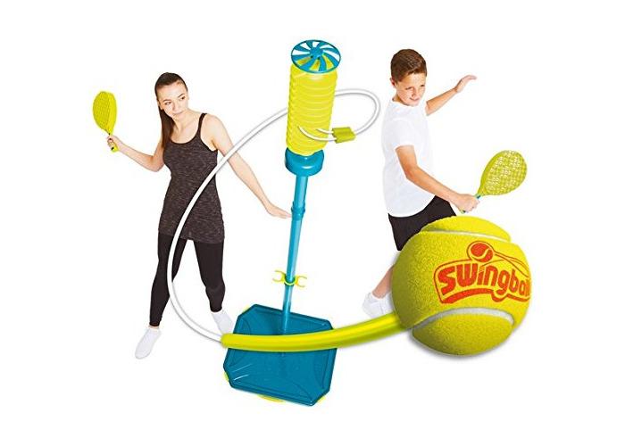 Swing Ball Brand New Pro All-Surface Swingball Set Real Tennis Ball 1-2 Players - 1