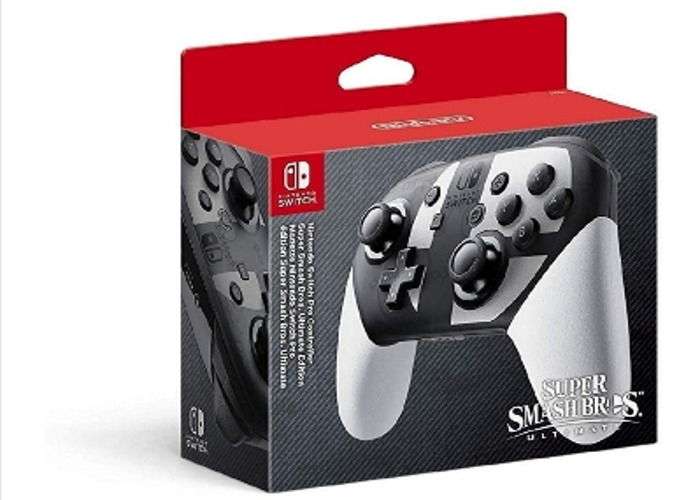 Switch Pro Controller Super Smash Bros Edition (Nintendo)  - 1