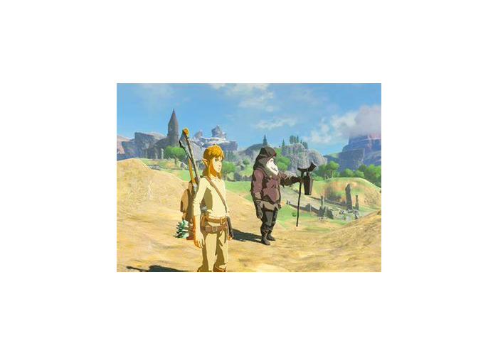 Switch with Breath of the Wild & Mario Odyssey - 1