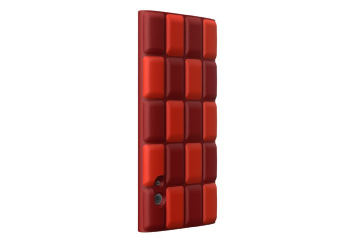 SwitchEasy Cubes Silicone Case for iPod Nano 5G - Red - 1