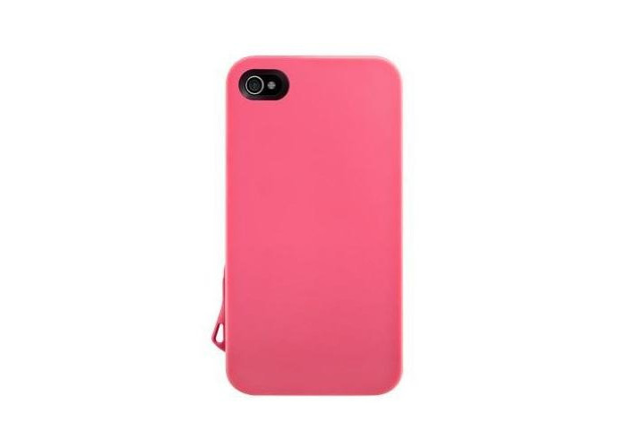 Switcheasy Lanyard Case for iPhone 4/4S - Pink - 1