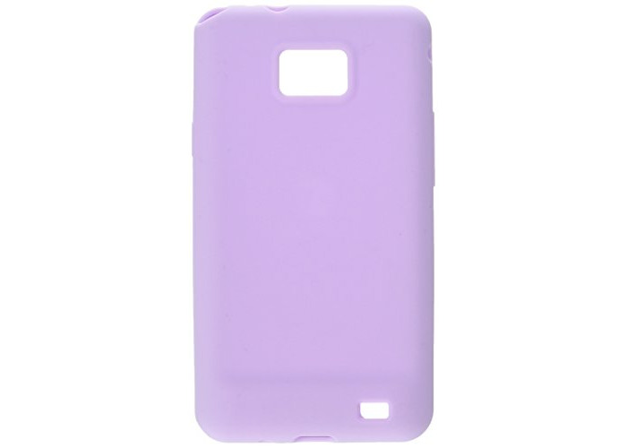 Switcheasy SW-COLG2-LC Colors Pastel Silicone Case for Samsung Galaxy S II International - 1 Pack - Case - Retail Packaging - Lilac - 1