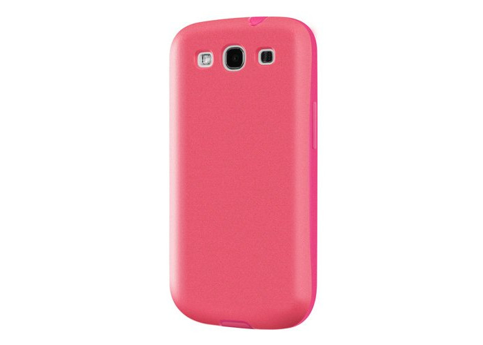 Switcheasy SW-FLOG3-P Flow Hybrid Case for Samsung Galaxy S III - 1 Pack - Retail Packaging - Fuchsia - 2