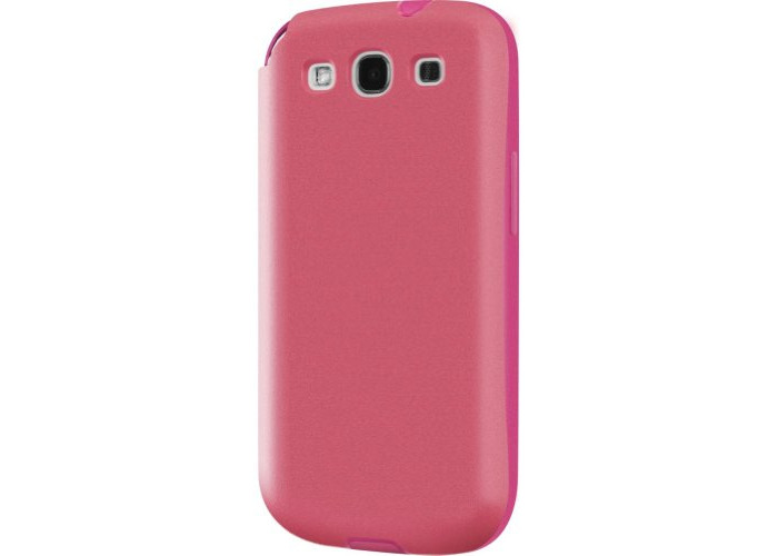 Switcheasy SW-FLOG3-P Flow Hybrid Case for Samsung Galaxy S III - 1 Pack - Retail Packaging - Fuchsia - 1