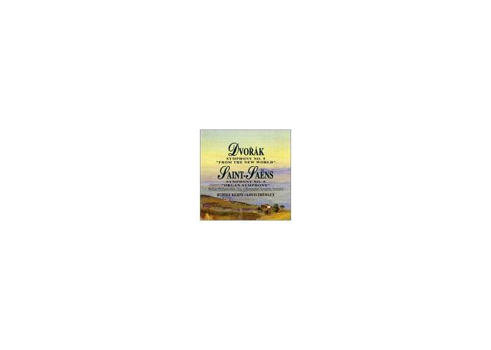 Buy Symphony 9/Symphony 3 [Audio CD] Dvorak and Saint-Saens