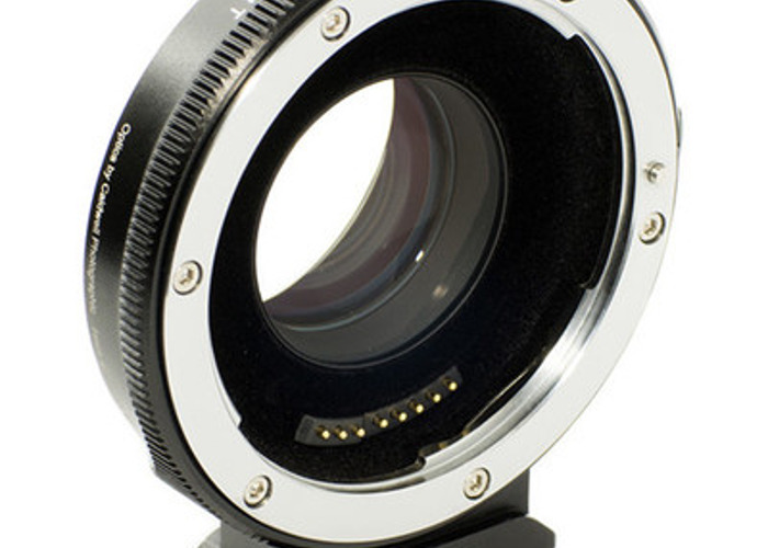 T Speed Booster Ultra 0.71x Adapter for Canon Full-Frame EF-Mount Lens to Micro Four Thirds-Mount Camera - 1